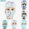 Cotton doctor cap, dental pet doctor, nurse print cap, breathable adjustable pharmacy cap, beauty salon uniform work cap