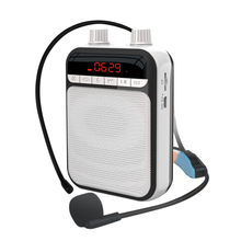 High-Quality and Portable Voice Amplifier with Microphone Personal Bluetooth Speaker for Teachers Tour Guides Trainers