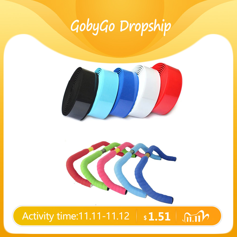 Bicycle Grip Wrap Racket Cork Handle Bar Tape Synthetic Cycling Road Sports