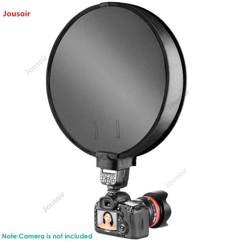 """Софтбокс 12 """"30 см портативный мини маленький круглый мягкий бокс для фото фотостудии съемки палатки света Диффузор CD50 T07 RR1"""
