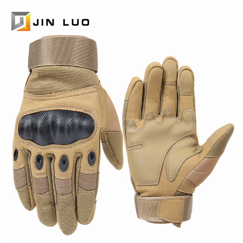 1 Pair Cycling Gloves Bike MTB Bicycle Full Finger Glove Motorcycle BMX Downhill Moto Cross Windproof Wintersport Accessories