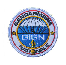 Gign Gendarmerie Nationale Franse Patches Borduren Militaire Tactische Patch Armband Patch Speciale Kracht Voor Jas(China)