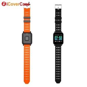 Image 3 - Для Samsung Galaxy S10 5G S10e Lite S9 S8 Plus S7 Note 10 9 8 Смарт часы браслет водонепроницаемые фитнес браслеты с измерением кровяного давления