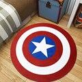 Большой размер  Мстители  плюшевые игрушки Marvel  коврик Бэтмен  Человек-паук  железный человек  Капитан Америка  фланелевый коврик в подарок д...