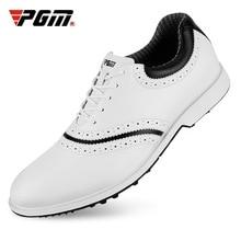 PGM New Golf Shoes Men's Winter Waterproof Non-Slip Shoes British Breathable Wind Shoes XZ133