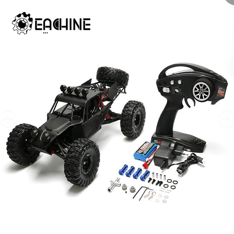Eachine EAT04 1/12 2.4G 4WD Proportional Control Upgrade Configuration RC Car Metal Body Shell Desert Off-road Truck RTR Toy