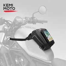 אופנוע שמן מיכל דלק שקיות עמיד למים אופנוע תרמיל רגל תיק מותניים אוניברסלי עבור הונדה CBR600RR CB1000R CB500X NC700X