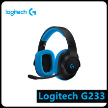 Logitech G233 PRODIGY 3.5mm Wired Headset Over-Ear Gaming Headphone w/ MIC Game computer peripherals computer wired gaming headphone earphones headband gaming headset over ear game headphone with microphone mic led light for pc