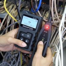 NOYAFA – moniteur de câble RJ45 Lan, testeur PoE Ethernet cat5 cat6, outils de réseau, affichage LCD mesure la longueur