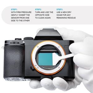 Image 4 - إيس كامل الإطار كاميرا الاستشعار تنظيف عدة FFR 24 مسحة مع نظافة لسوني نيكون كانون ف CCD CMOS تنظيف