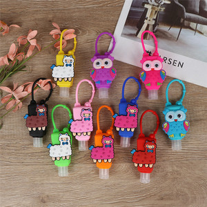 Image 3 - 1PC 30ml Cartoon Silicone Bath Body Works Hand Sanitizer Bottle Antibacterial Holder