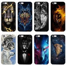 Classic Cool lion tiger Wolf fashion soft phone case For Xiaomi Mi 9 9t CC9 CC9e 8 SE pro lite Redmi note 8 7 7A pro k20 2 3(China)