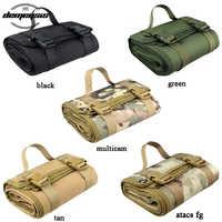 Military Tactical Shooting Mat Outdoor Waterproof Hunting Airdoft Paintball Camping Mat Molle Climbing Cs Combat Picnic Blankets
