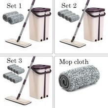 Lazy Disposable Wash Mop Can Be Lengthened To Increase The Mop Household Cleaning Appliances цена и фото