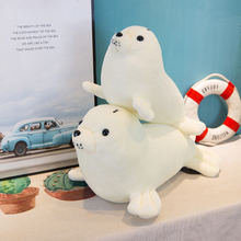 Plush toy cute simulation seal doll white sea lion soft fill marine animal boy girl child birthday gift 30-60 cm WJ217