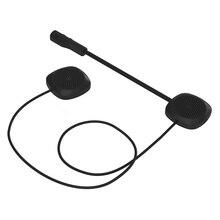 цена на Motorcycle Helmet Headset Bluetooth 5.0 Edr Headphones Microphone Bicycle Helmet Earphone Handsfree Speaker Call