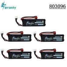 14.8v 2800mah 30c bateria recarregável 4S lipo bateria para ft010 ft011 rc barco rc quadcopter helicóptero aviões rc carro 803496