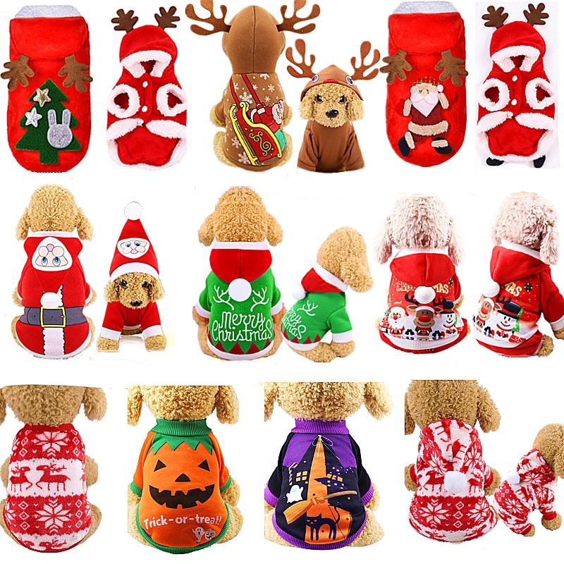 Рождественская Одежда для собак, пальто для собак, чихуахуа, зимний костюм на Хэллоуин для маленьких и больших собак, одежда для домашних животных, толстовки для кошек, одежда для домашних животных|Пальто и куртки для собак|   | АлиЭкспресс