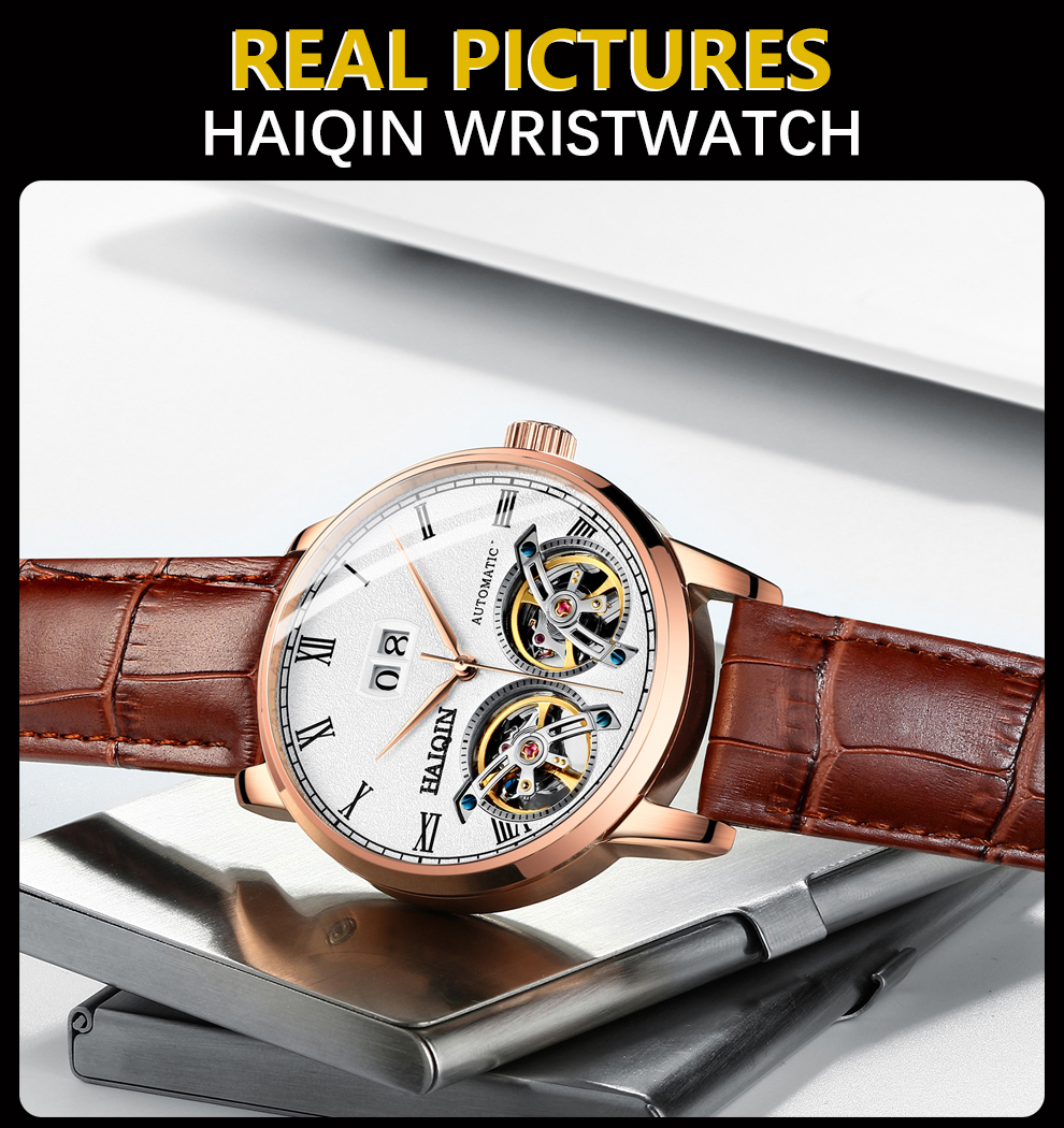 HAIQIN Men's watches Mens Watches top brand luxury Automatic mechanical sport watch men wirstwatch Tourbillon Reloj hombres 2020 H5e2271ea468d4d2cab73521bc81cdf7cp