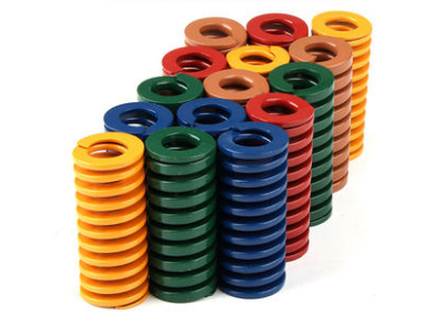 18x9x2 5/30/35/40/45/50/55/60/65/70/75/80/90/100/125 มม.2Pcsปั๊มการบีบอัดDieฤดูใบไม้ผลิสีแดงสีเหลืองสีฟ้าสีเขียวสีน้ำตาล