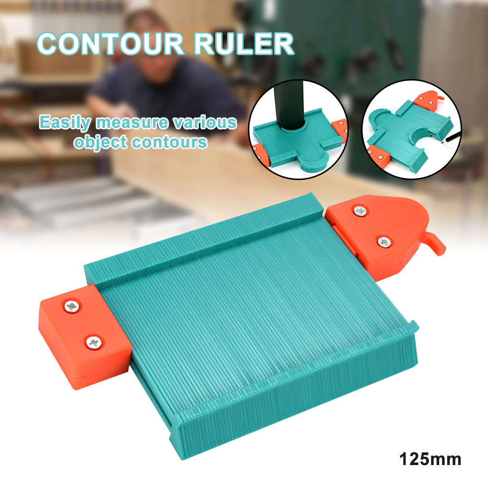 Saker Contour Duplication Gauge - Saltday Contour Gauge Duplicator Tool Multifunction Saker Contour Duplication Gauge
