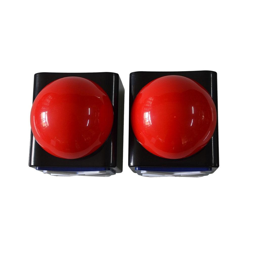 Game Answer Buzzer ABS Toy Quiz Prank Sound Light Alarm Button Fun Got Talent Ring Loud Trivia Relieve Stress Joke