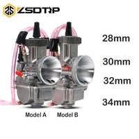 ZSDTRP PWK KEIHIN 28 30 32 34 mm Vergaser Für Motorrad ATV Buggy Quad Go Kart Dirt Pit Bike jet boot Fit auf 2T 4T Moto