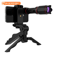 32x Monocular Telephoto Zoom Phone Camera Lens For iPhone 8 XS Outdoor Travel Game HD Tripod 120 Wide Angle Fisheye For Samsung
