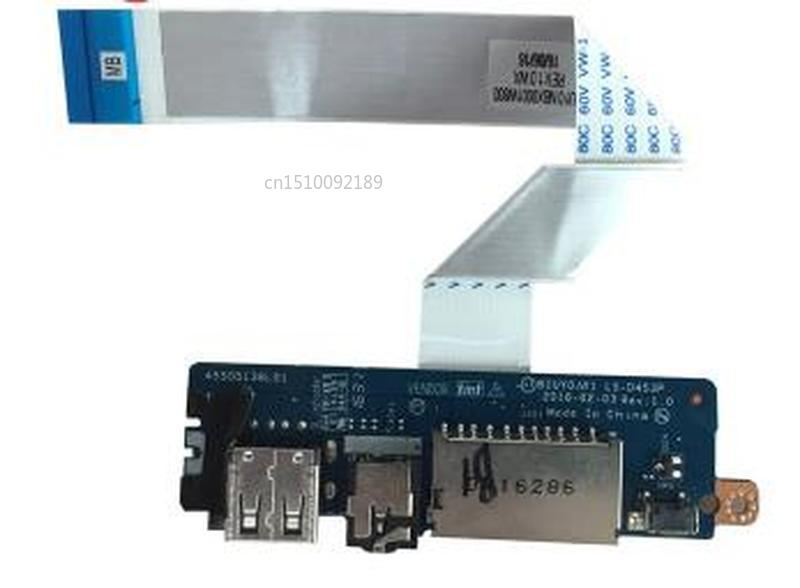 Original FOR Ideapad FLEX 4-1570 Audio USB Card Reader Board With Cable LS-D453P NBX0001WC00 Test Good Free Shipping