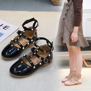 Image 2 - 2019 Yaz Kızlar Sandalet Moda Chaussure Fille Roma Çizmeler Yüksek top çocuk sandaletleri Yürümeye Başlayan Çocuk Sandalet Kızlar Ayakkabı