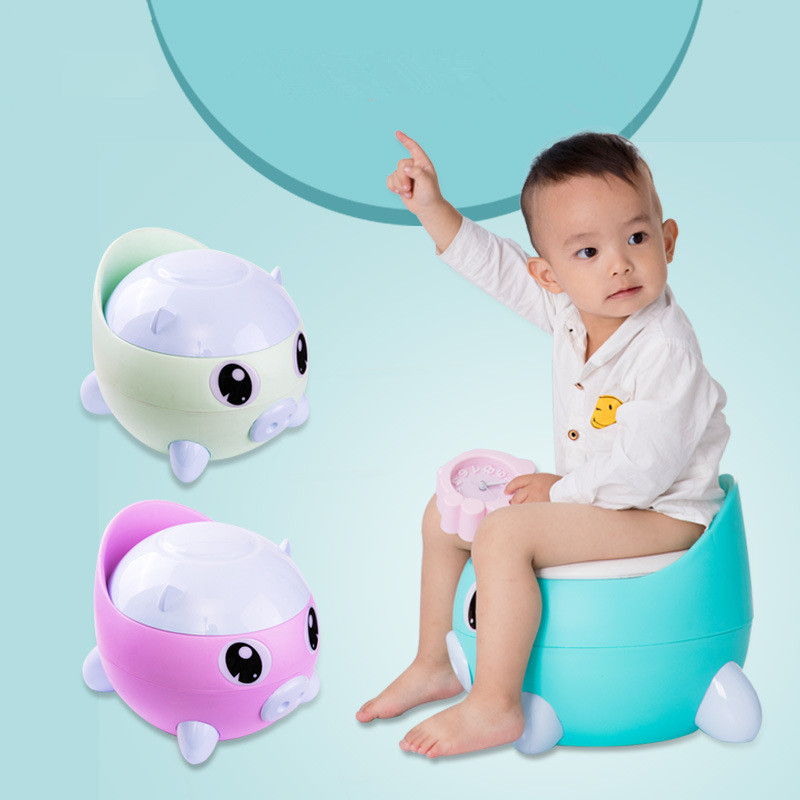Baby Boy Cartoon Pig Pee Potty Training Toilet Kids Potty Training Toilet Baby Girl's Pink Toilet Children'sWC Baby Boy's Urinal
