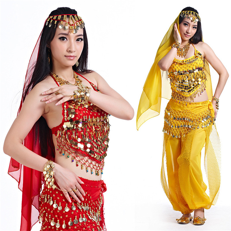 Belly Dance Costumes For Sale Pants Women Bollywood Indian Egyptian Belly Dress Dance Plus Size For Adults For Women 2pcs-4pcs
