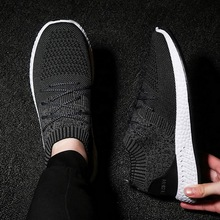 LOOZYKIT Men Casual Shoes Lac-up Men Shoes Lightweight Sock Shoes Comfortable Breathable Walking Sneakers Tenis Feminino Zapatos