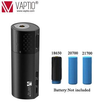 цена на Vaping mod Vaptio Vex 100W TC Box Mod fit 1*21700/20700/18650 battery box mod No Battery