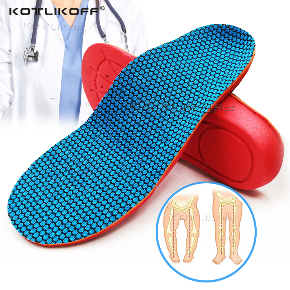 Kids Children Orthopedic Insoles Shoes Flat Foot Arch Support Insoles Orthotic Pads Correction Health Shoes Pad Foot Care