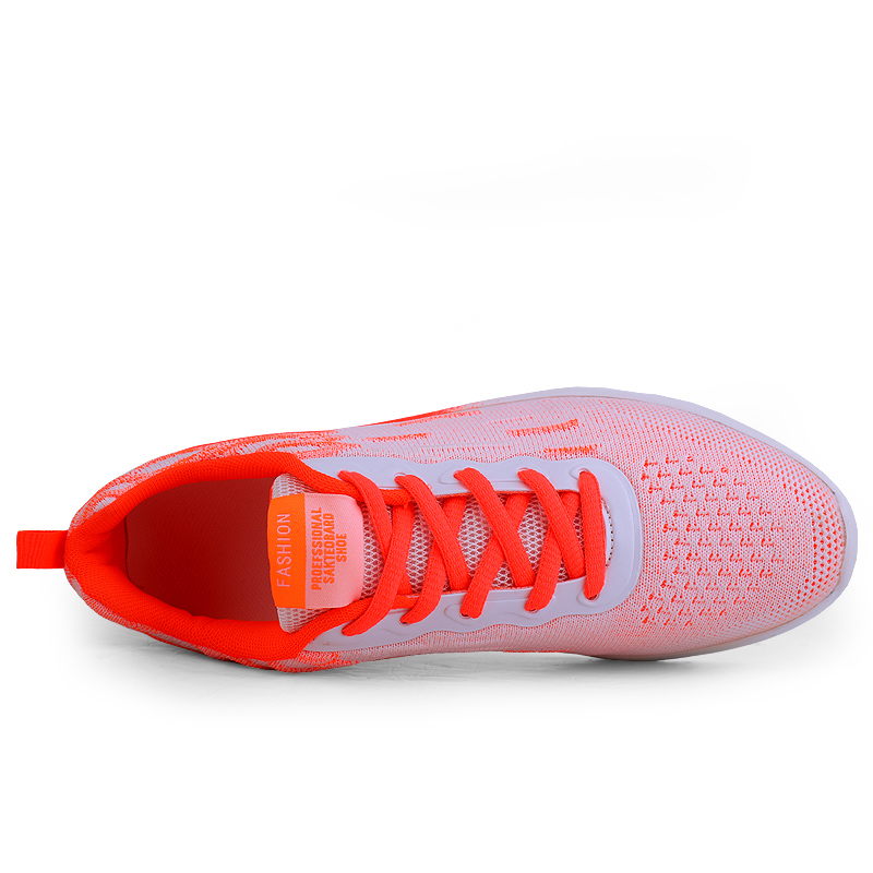 Woman Fashion Sneakers Female Running Sport Shoes Air Cushion Mesh Trainers Casual Outdoor Breathable Shoes Sneakers Women