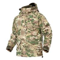 New Fleece Warmer Camouflage Tactical Windbreaker Jacket For Men Outdoor Hiking Jacket Thicken Winter Windproof Army Coats XXXL