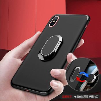 for Alcatel One Touch Idol 3 5 5S 6045Y 6039Y 5 5086D A5 LED 5085 5V 5060D Finger Ring Stand Holder Case Cover image