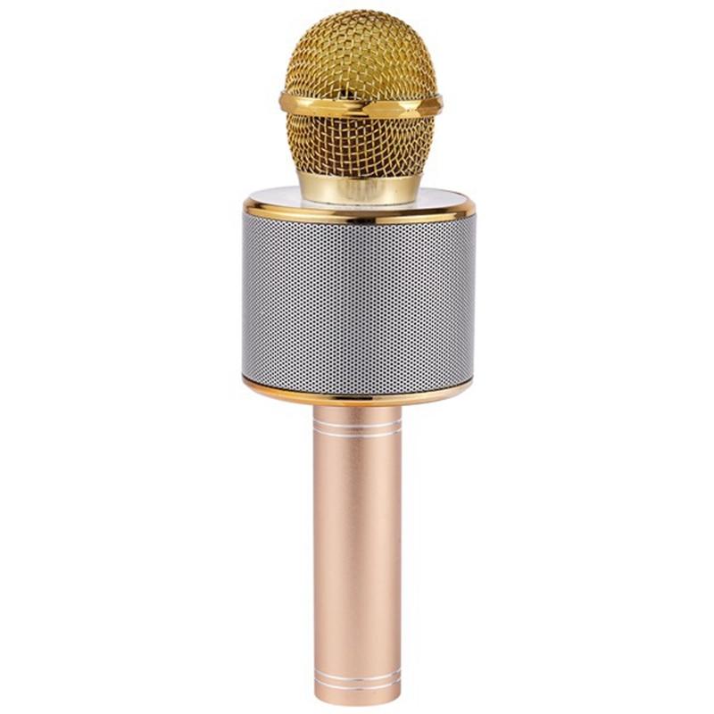 Handheld bluetooth sem fio microfone musical telefone