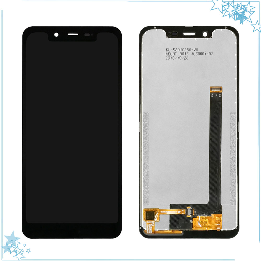 5.85''Black For Homtom Zoji Z33 LCD Display+Touch Screen Digitizer Assembly For Zojii Z33 Accessory image