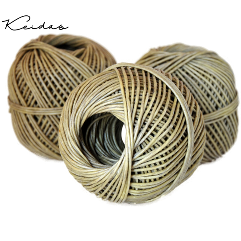 Brand New 250ft   Organic  Hemp Wicks Coated In Beeswax Roll For DIY Candle Making