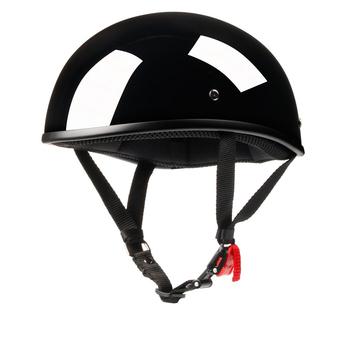 DOT pół twarzy kask motocyklowy pół kask otwarta twarz Casco De Moto dla cafe racer skuter Chopper tanie i dobre opinie LDMET Kaski Unisex
