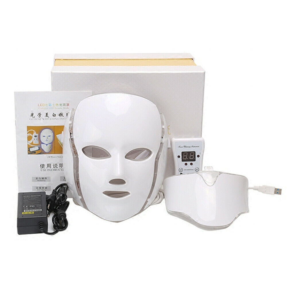 7 Colors Light LED Mask Light Therapy TL50 For Skin Rejuvenation Face Care Treatment Ideatherapy