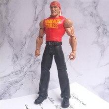 WWEE amerikan güreş mania modelleri aksiyon figürleri orijinal fabrika oyuncaklar kokusuz Hulk Hogan büyük E roma reigns taahhüt