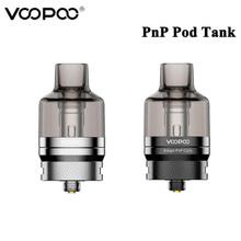 Oryginalny VOOPOO PnP Pod zbiornik dno napełniania 4 5ML Atomizer z PnP-VM1 PnP-VM6 cewki dla E Cigs VOOPOO przeciągnij X i przeciągnij S Vape tanie tanio VOOPOO PnP Pod Tank Z tworzywa sztucznego Wymienne VOOPOO Drag X and Drag S Vape