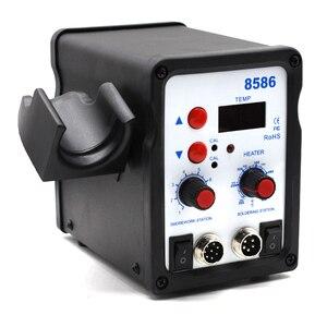 Image 4 - Yarboly 8586 SMD BGA Rework Solder Station Hot Air Blower Heat Gun Hair Dryer Soldering Hairdryer Desoldering Tool