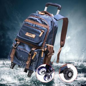 Новые модные съемные детские школьные сумки, водонепроницаемые для девочек и мальчиков, рюкзак на колесиках для детей 2/6, сумка для книг, сум...