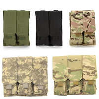 Tactical Molle Magazine Pouch Bag for AK 47 74 Airsoft Paintball Rifle Gun Pistol Mag Bag Magazine Tool Bag Hunting Accessories