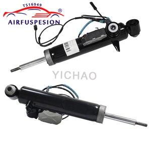 Image 2 - Para tylne zawieszenie pneumatyczne amortyzator dla BMW X5 E70 z czujnikiem 37126788765 37126788766 37116794532 37116794531