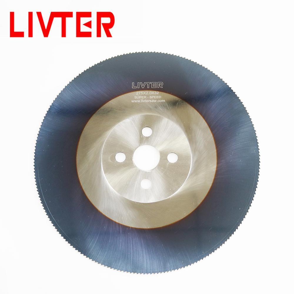 LIVTER High Speed Saw Blade Circular Hss Cutting Disc For Metal Steel Bar 300mm